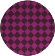 rug #235307   round check rug