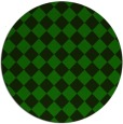 rug #235309 | round green check rug