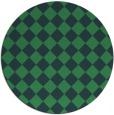 rug #235323 | round check rug