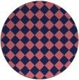 rug #235333 | round check rug