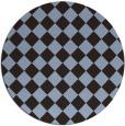 rug #235356 | round check rug