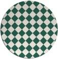 rug #235374 | round check rug