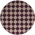 rug #235397   round check rug