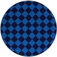 rug #235409 | round blue rug
