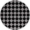 rug #235414   round check rug