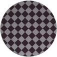 rug #235477 | round purple check rug
