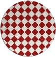 rug #235490 | round check rug