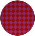 rug #235494 | round check rug