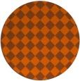 rug #235506   round check rug