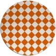 rug #235510   round check rug