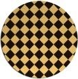 rug #235539 | round check rug