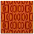 rug #236133 | square red-orange stripes rug
