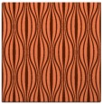 rug #236145 | square orange retro rug
