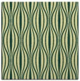 rug #236149 | square yellow stripes rug