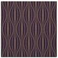 rug #236177 | square purple stripes rug