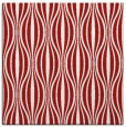 rug #236193 | square red retro rug