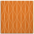 rug #236205 | square red-orange stripes rug