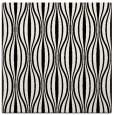 rug #236217 | square white retro rug