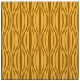 rug #236249 | square yellow stripes rug