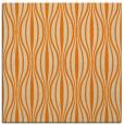 rug #236261 | square orange retro rug