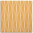 rug #236293 | square light-orange stripes rug