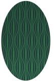 rug #236380   oval stripes rug