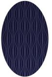 rug #236381 | oval blue-violet retro rug