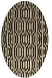 rug #236451 | oval stripes rug