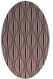 rug #236453 | oval stripes rug