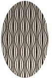 rug #236593 | oval brown retro rug