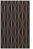 rug #236661 |  black stripes rug