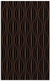 rug #236665 |  brown stripes rug