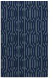 rug #236681 |  blue retro rug