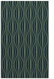 rug #236685 |  blue stripes rug