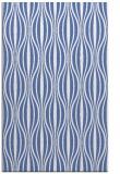 rug #236689    blue stripes rug