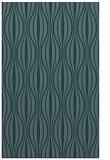 rug #236721 |  blue-green retro rug