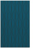rug #236729 |  blue-green retro rug