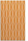 rug #236841 |  orange stripes rug