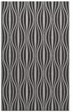 rug #236849    red-orange stripes rug