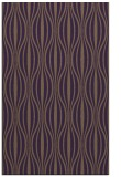 rug #236881 |  mid-brown stripes rug