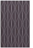 rug #236885 |  purple retro rug