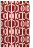 rug #236897    red stripes rug