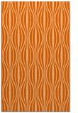 rug #236909 |  red-orange retro rug