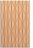 rug #236917 |  red-orange retro rug