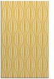 rug #236937    yellow stripes rug
