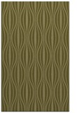 rug #236981 |  light-green stripes rug