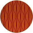 rug #237189 | round red-orange retro rug