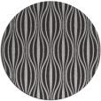 rug #237201 | round red-orange stripes rug