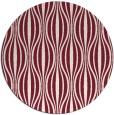 rug #237213 | round pink retro rug