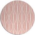 rug #237221 | round pink rug